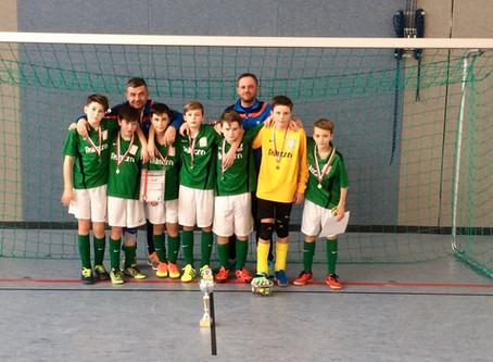 D1-Junioren: 2. Platz beim 5. Hallencup (Budenzauber) der SG Neukirchen