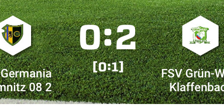 1. Herren: 2:0 Auswärtssieg gegen Germania 2.