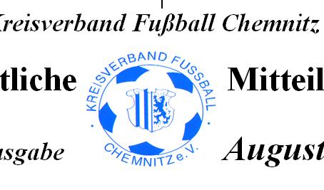 Amtliche Mitteilung August 2014 vom KVFC