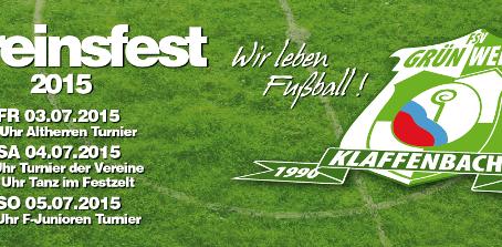 Vereinsfest  03.07.-05.07.2015