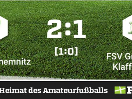 1. Herren: Niederlage im letzten Spiel der Saison gegen Post SV Chemnitz