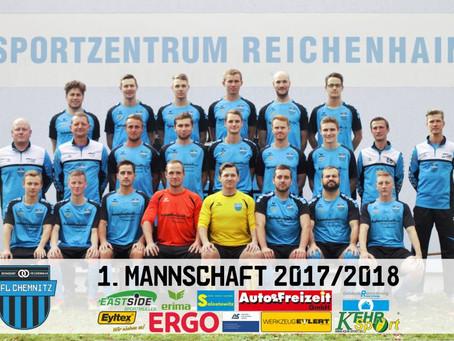 1. Herren: 2:1 Auswärtssieg bei VfL Chemnitz