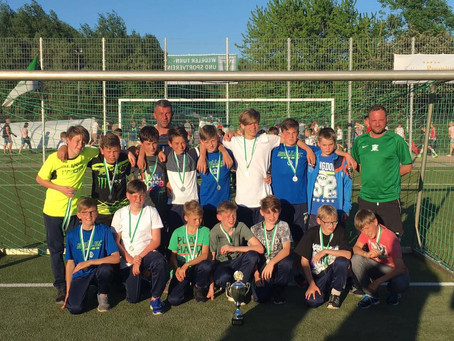 D1-Junioren beim 4. Badebucht-Cup des Wedeler TSV (Hamburg)