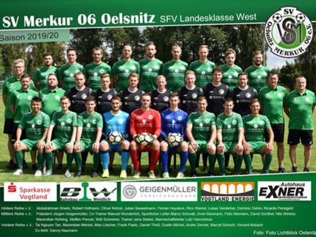 1. Herren: Wieder keine Punkte – Niederlage gegen SV Merkur 06 Oelsnitz