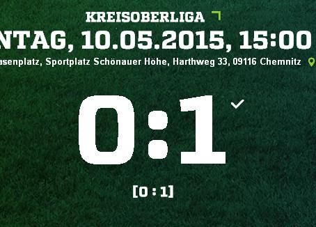1:0- Auswärtssieg gegen VTB Chemnitz