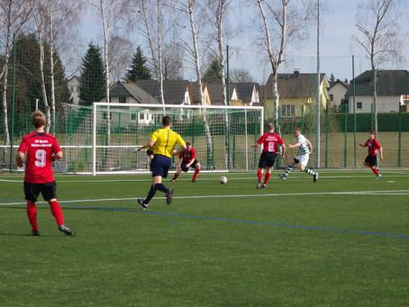 1. Mannschaft: 1:1 zum Rückrundenstart gegen Eiche Reichenbrand