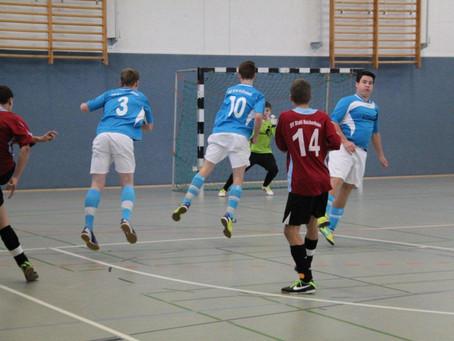 B-Junioren: 2. Platz beim Hallenturnier in Einsiedel