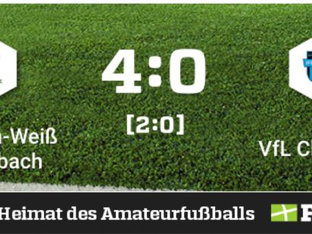1. Herren: Klaffenbach gewinnt Heimspiel gegen VfL Chemnitz klar mit 4:0