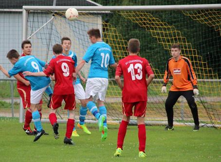 B-Junioren: 4:2 Sieg im Testspiel gegen SV Leukersdorf