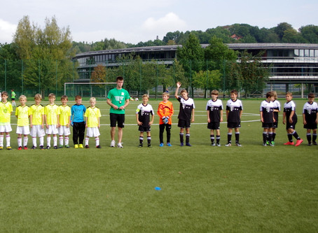 E1-Junioren: Klarer 18:0 Sieg gegen IKA Chemnitz