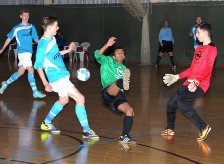 A-Junioren: HKM – 2. Platz nach Hinrunde