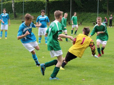B-Junioren: 12:0 Heimsieg und vorzeitig Keismeister