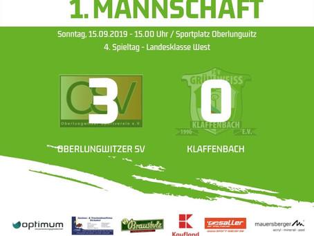 1. Herren: Niederlage in Oberlungwitz