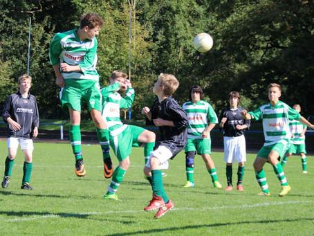 B-Junioren: Zweistelliger Sieg gegen Chemnitzer Polizei Sport Verein