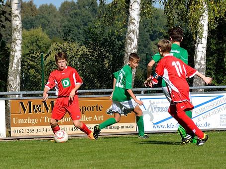 C-Junioren: 4:1 Heimsieg gegen SSV Textima Chemnitz