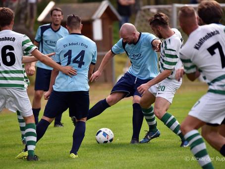 Gerechtes 2:2 Unentschieden zum Derby-Saisonauftakt gegen Adorf