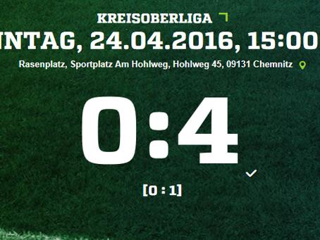 1. Mannschaft: Klarer Sieg gegen ESV LOK Chemnitz