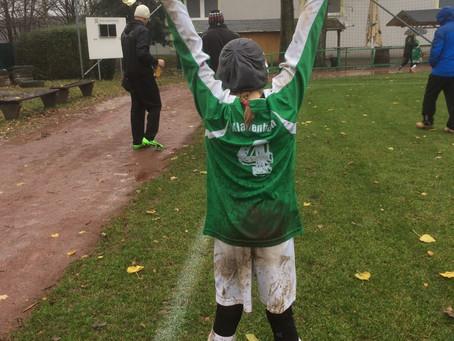 E2-Junioren: Pokalspiel gegen Germania Chemnitz 2