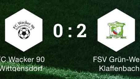 Klaffenbach 1: Verdientes Weiterkommen im Pokal