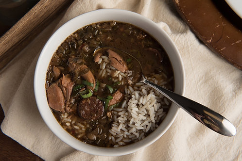 Chicken and Sausage Gumbo - 3 Servings