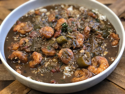 Shrimp & Okra Gumbo - 3 Servings