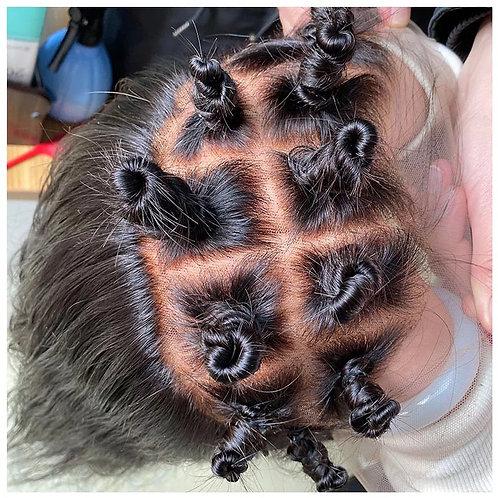 Real scalp bob