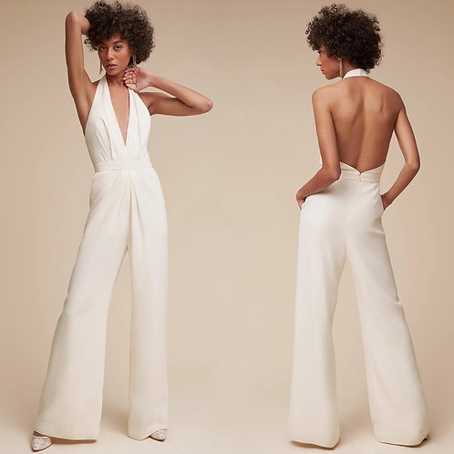 Si white jumpsuit