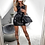 Thumbnail: Leather Biker  Bodycon Mini Dress