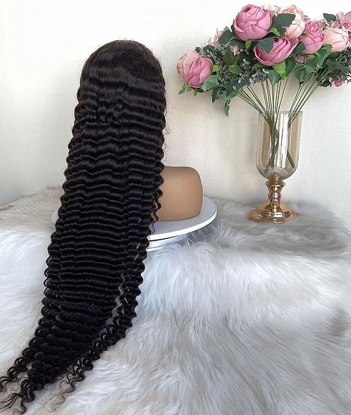 Hd custom lace wig