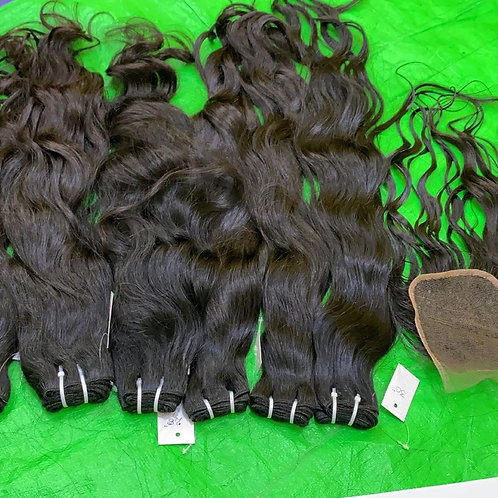 raw human Indian hair bundles