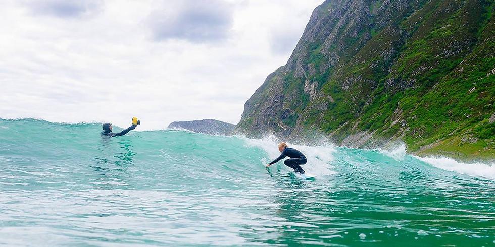 Surfetur til Stadt