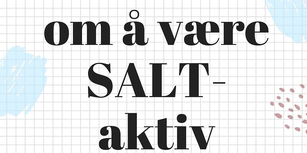 Infomøte om å være SALT-aktiv
