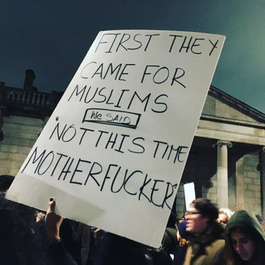 First they came for the muslims...