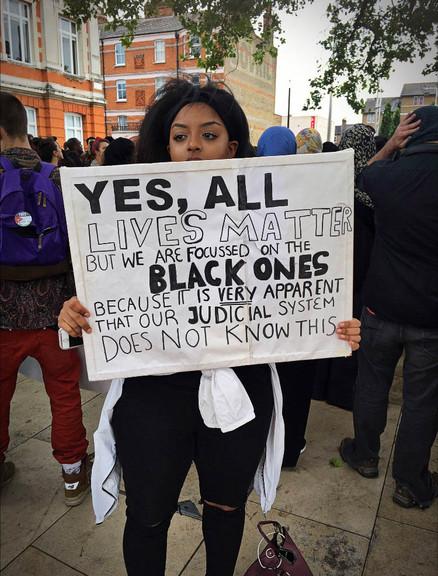 All Lives Matter - Black Lives Matter