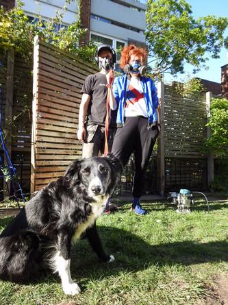 Marj, Jake and Heather
