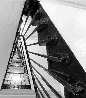 Berthold Lubetkin's stairs in Tower Hamlets