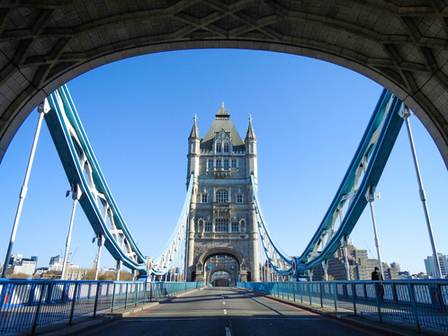 Empty Tower Bridge