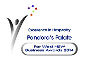 Winner Excellence in Hospitality Pandora