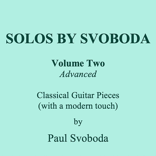 'Solos by Svoboda' Volume 2
