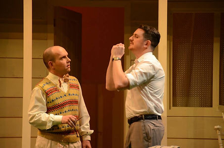 Street Theatre's Production of All My Sons Chirs Keller Frank Lubey