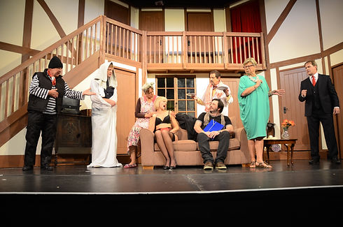 Street Theatre's Production of Noises Off Act 1 What's That Dad?
