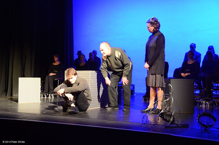 Street Theatre's Production of Equus Strang Alan Frank Dora