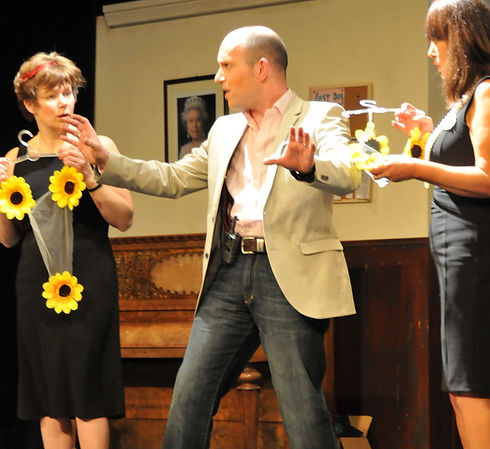 Street Theatre's Production of Calendar Girls Liam Sunflowers