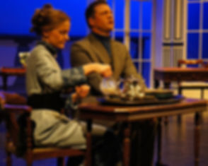 Street Theatre's Production of Lady Windermere's Fan tea with Lord Darlington