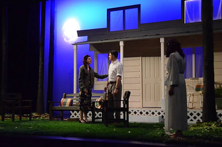 Street Theatre's Production of All My Sons Act 3 Ann and Chris