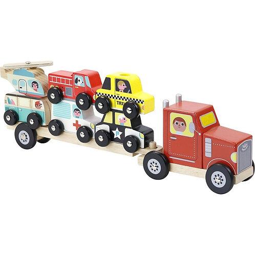 Camion empil'auto