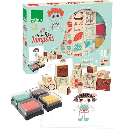 Coffret tampons perso and co
