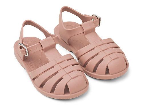 Sandales de plage Dark rose