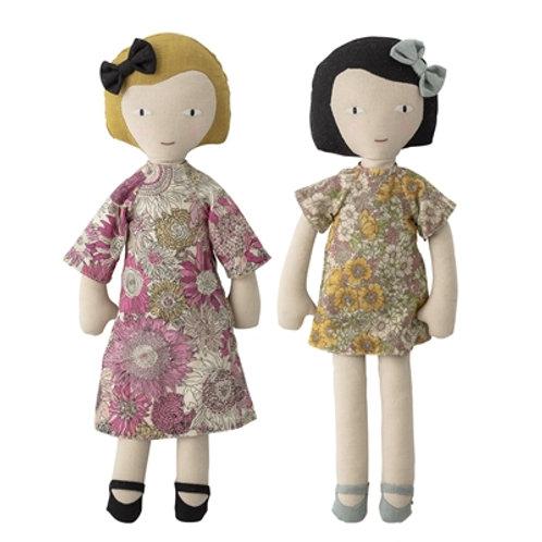 Set de 2 poupées chiffon