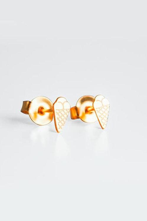 Boucles d'oreilles glace